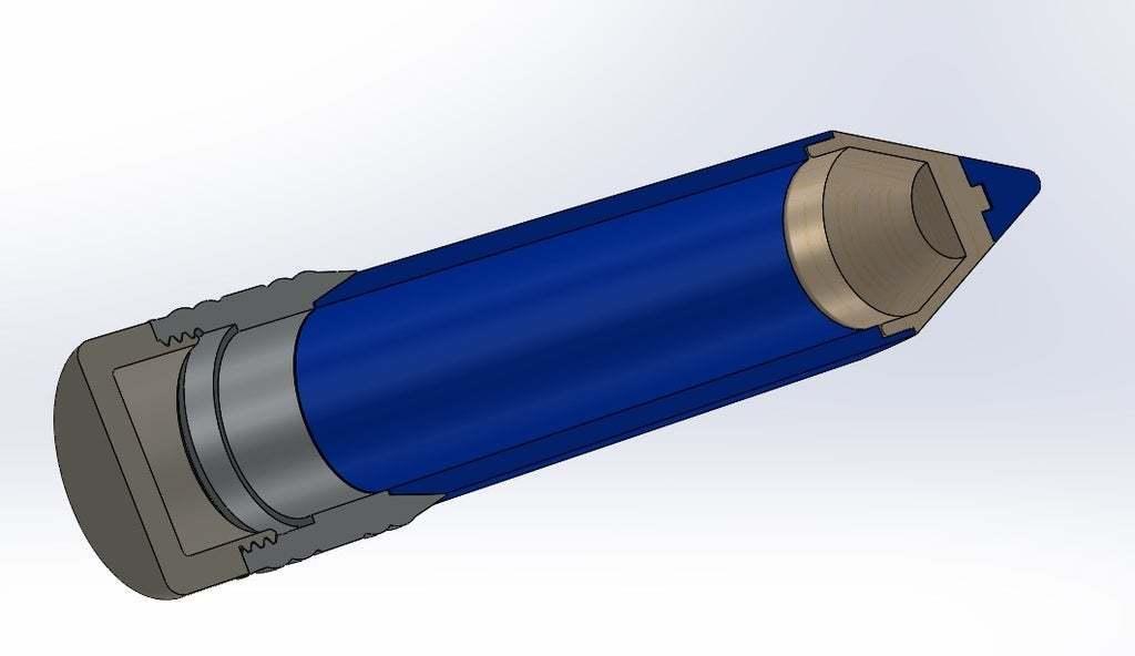 2.jpg Download free STL file Big pen box • 3D print template, Lyryln