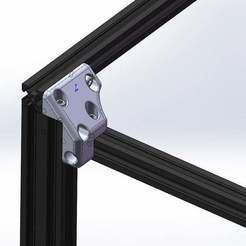 Download free 3D printer model Crossbar Relocation Bracket ender 5, Lyryln