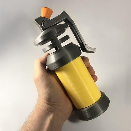 Télécharger fichier imprimante 3D Bombe puante de style fortnite - mobile et à l'échelle 1:1 - pas besoin de colle, AW95