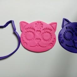 IMG_20201006_121551.jpg Download STL file Skull Cat Hallowen 2020 • 3D printer model, garma10