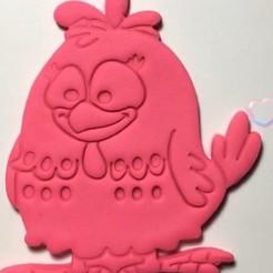 moldeado.jpg Download STL file Cookie cutter Painted chicken • 3D print object, garma10