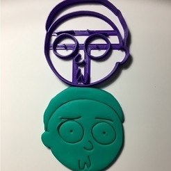 Download free 3D printing models Rick and morty cookie cutter, garma10