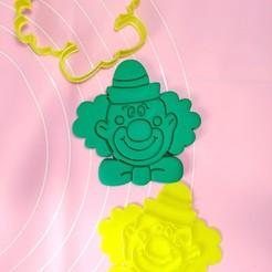 IMG_20201019_025725.jpg Download STL file Clown marker cutter 8cm • 3D print model, garma10