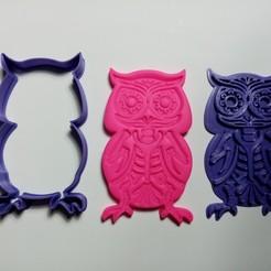 IMG_20201006_120543.jpg Download STL file Skull Owl Owl Hallowen • 3D printing object, garma10