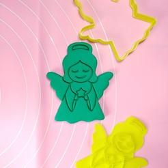 IMG_20201019_023605.jpg Download STL file Guardian Angel 8cm • 3D printer design, garma10