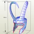 Télécharger fichier imprimante 3D Casque Loki, Hiken_industries