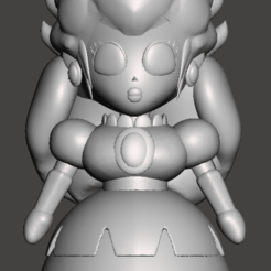 PeachPRG001.png Download STL file Princess Peach Super Mario RPG • 3D printing template, ckyer85