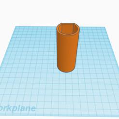 Toothbrush wall mount.png Download free STL file Toothbrush wall mount • 3D printable template, stephanieskater2