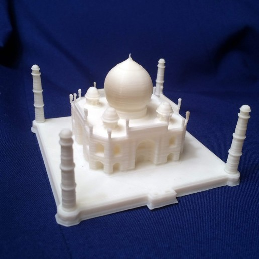 Download free 3D printing files taj mahal, Madebyclarke