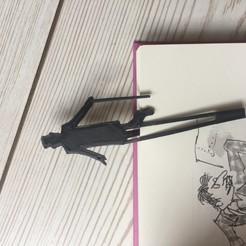 Télécharger modèle 3D gratuit Signet Willy Wonka, eduardeinhorn