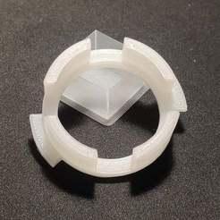 IMG_20200817_231313.jpg Télécharger fichier STL gratuit Adaptateur de pod pour tweeter de tableau de bord de la Peugeot 207 • Objet pour impression 3D, Gdeszyk