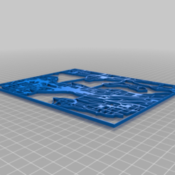 Download free 3D printer templates Map of Seattle, SwaggyMike