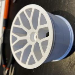 Descargar archivo 3D gratis RC truggy 1:10 llanta, Supasa