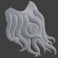 Cthulhu01Finalsideview.PNG Télécharger fichier STL Cthulhu Covid-Mask • Plan à imprimer en 3D, Only3DThatyouNeed