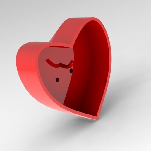Download free STL files Heart hanger for clothes and keys., abdallahhisham