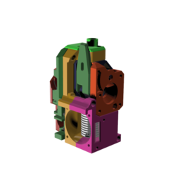 Extruder_Zaribo-BMG_with_bearing_sensor_MK2.5_v6.png Download free STL file BMG Extruder carriage for Prusa MK2.5 ZARIBO bearing version • Object to 3D print, MarcoZ76