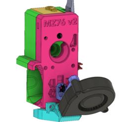 Schermata_2019-07-17_alle_19.30.10.png Download free STL file Bondtech BMG Prusa MK3S/MK2.5S v2 FDM printable + RHD ver.C fan Shroud • 3D printer design, MarcoZ76