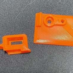 Télécharger fichier STL gratuit Extrudeuse Bondtech Prusa MK2.5S/MK3S couvercle du filtre à poussière amovible • Plan à imprimer en 3D, MarcoZ76