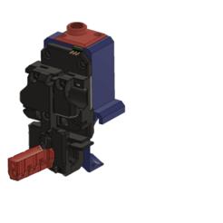 Download free STL file Zaribo X-carriage mod for Bondtech_Prusa_mod MK3S-MK2.5S new sensor • 3D print model, MarcoZ76