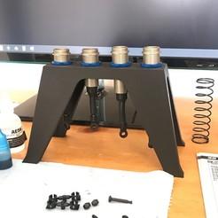 1.JPG Download 3MF file RC Shock Stand 1:8 Scale Shocks • Design to 3D print, marklandsaat