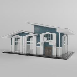 dsdsdsdw.jpg Download STL file Villa 02 • Template to 3D print, alikemal54001