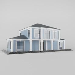 Descargar archivos 3D Villa 01, alikemal54001