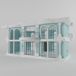 Descargar modelos 3D para imprimir Villa 04, alikemal54001
