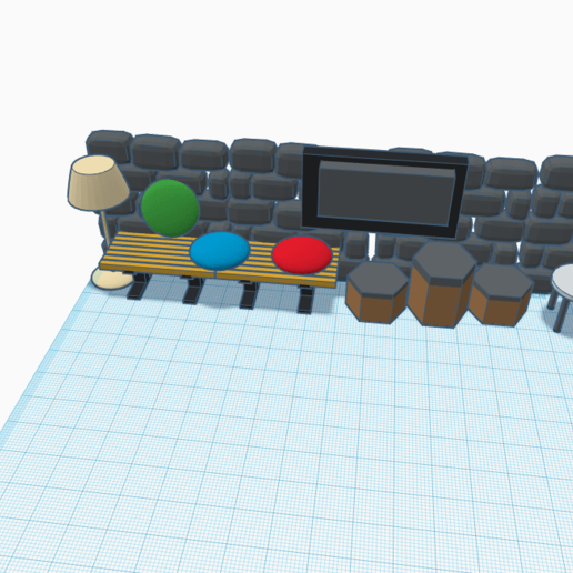 Download free 3D printing templates sweet comfortable hang out, roddaaar000
