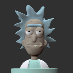 Download STL file RICK C137, K2a