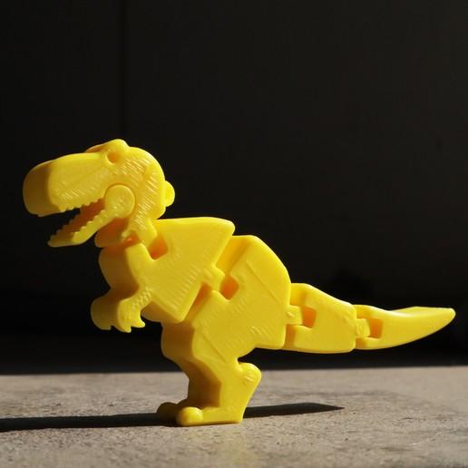 IMG_0170.jpg Download free STL file Baby T-rex Flexy Keychain • Template to 3D print, hardprint2018