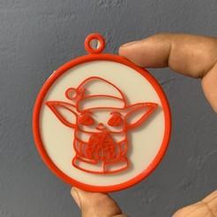 image0 (14).jpeg Télécharger fichier STL Set de décoration pour l'arbre de Noël mandalorien • Modèle à imprimer en 3D, Custom3DCreators