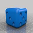 Dice_Shifter.png Download free OBJ file Dice Shifter - 5 Speed VW • 3D printer design, dice81