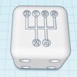 DiceShifter45mm.png Download free OBJ file Dice Shifter - 5 Speed VW • 3D printer design, dice81