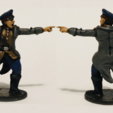 Download free 3D printer designs 28mm 1/56 Soviet Commissar WW2 , RedDawnMiniatures