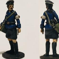 NBM Painted (2).png Download STL file 28mm 1/56 Soviet Naval Brigade Medic • 3D printing design, RedDawnMiniatures