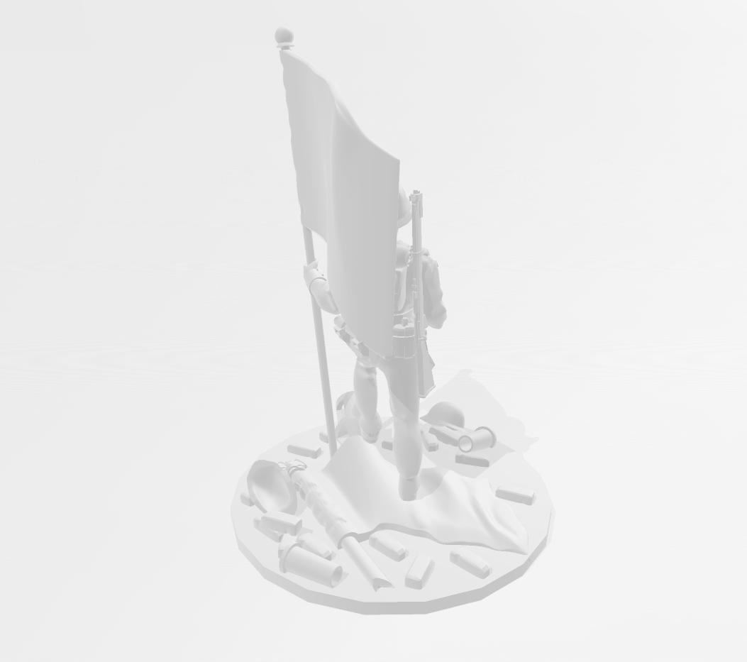 VE Day Brit 2.png Télécharger fichier STL gratuit 28mm Britannia Soldat britannique triomphant de la Seconde Guerre mondiale • Design pour imprimante 3D, RedDawnMiniatures