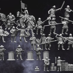 October Release.jpg Download STL file 28mm Medieval Hundred Years War Army • 3D printable design, RedDawnMiniatures