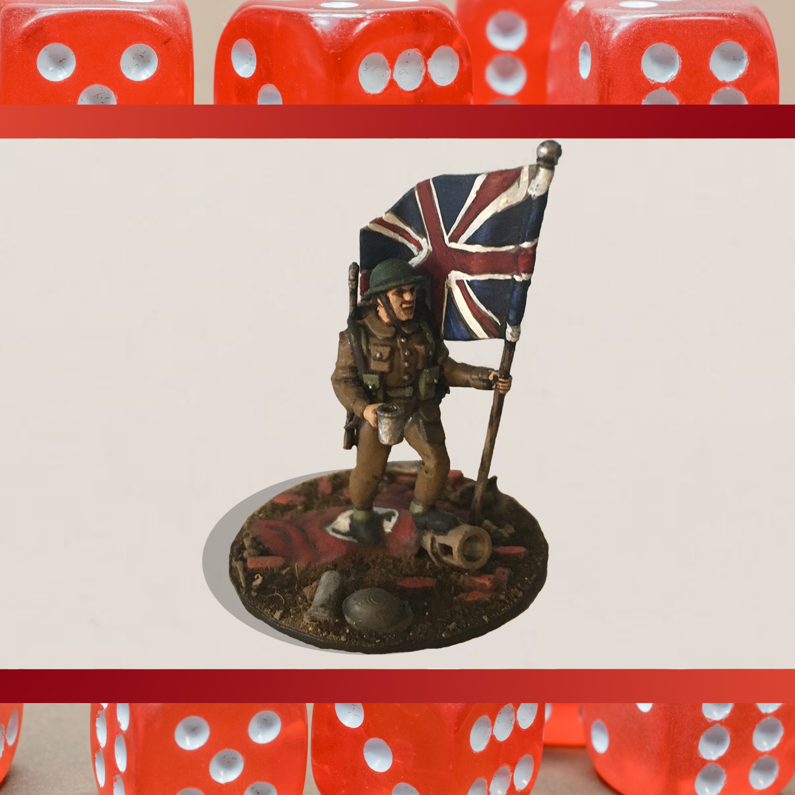 Untitled design (1) ver 2.png Télécharger fichier STL gratuit 28mm Britannia Soldat britannique triomphant de la Seconde Guerre mondiale • Design pour imprimante 3D, RedDawnMiniatures