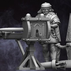 Scorpion.jpg Download STL file 28mm EI Roman Scorpion Team • Object to 3D print, RedDawnMiniatures
