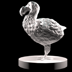 rendu 1.png Télécharger fichier STL DODO DECORATION • Objet imprimable en 3D, lnkoalaaa