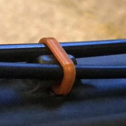 EVIL_Wreckoning_Cable_Holder_Zoom.jpg Download free OBJ file EVIL Wreckoning Frame Double Cable Holder Clip • 3D printer design, milkiekula