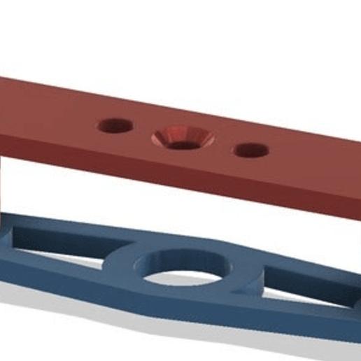 1.png Télécharger fichier STL gratuit Système de support de lit TronXY X5S & SA • Design imprimable en 3D, Exerqtor