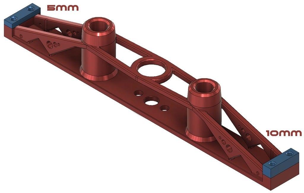 tunmbnail.png Télécharger fichier STL gratuit Système de support de lit TronXY X5S & SA • Design imprimable en 3D, Exerqtor