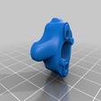 Base.png Télécharger fichier STL gratuit Mosquito Hotend - Adaptateur multi-matériaux / 3in-1out • Plan pour imprimante 3D, Exerqtor