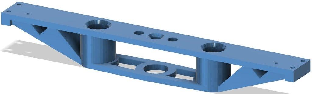 5.png Télécharger fichier STL gratuit Système de support de lit TronXY X5S & SA • Design imprimable en 3D, Exerqtor