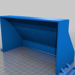 Download free 3D printing templates Thermaltake Core PSU cover, Exerqtor