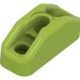 T-Slot_mount-v2.png Télécharger fichier STL gratuit Porte-bobine à rembobinage automatique - support pour fente en T • Objet pour impression 3D, Exerqtor
