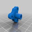 Singleflex.png Télécharger fichier STL gratuit Mosquito Hotend - Adaptateur multi-matériaux / 3in-1out • Plan pour imprimante 3D, Exerqtor