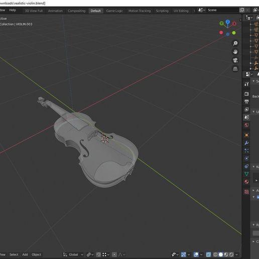 realistic-violin-3d-model-blend (2).jpg Télécharger fichier STL gratuit ealistic violin 3D model • Design à imprimer en 3D, Anxhelo24j