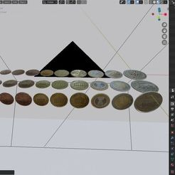 Download free 3D printer model All Euro Coins 3D model, Anxhelo24j